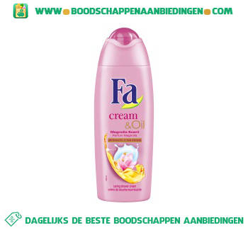 Fa Shower cream & oil silk & magnolia aanbieding