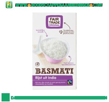 Fair Trade Original Basmati rijst aanbieding