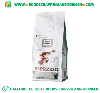 Fair Trade Original Espressobonen aanbieding
