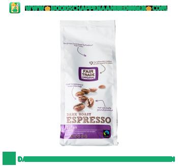 Espressobonen dark roast aanbieding