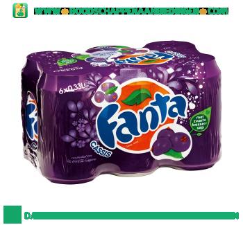 Fanta Cassis 6-pak aanbieding