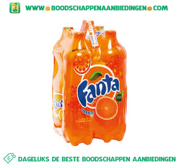 Fanta Orange 4-pak aanbieding