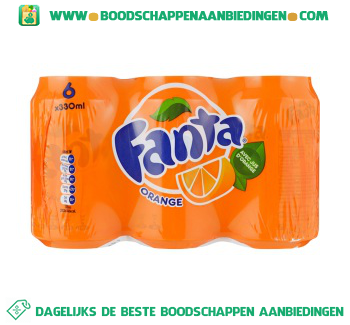 Fanta Orange 6-pak aanbieding