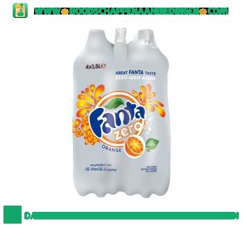 Fanta Orange zero 4-pak aanbieding