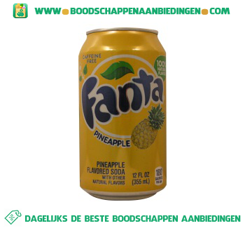 Fanta Pineappel aanbieding