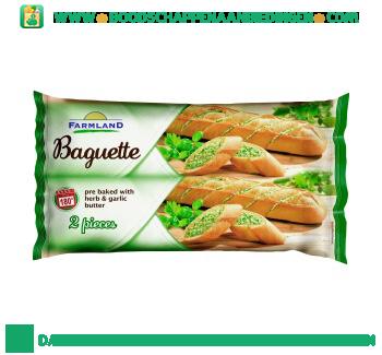 Baguette kruidenboter 2 stuks aanbieding