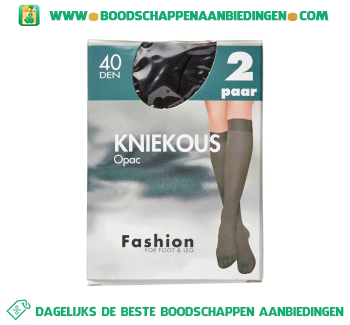Fashion Knk opaque zwt o.s. 40 aanbieding
