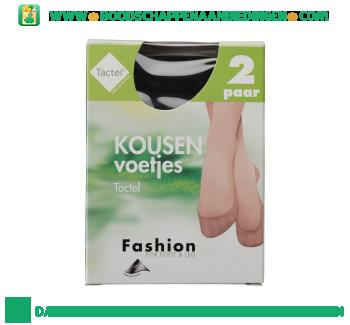 Fashion Kousenvoetjes zwart 39/42 aanbieding