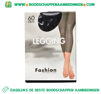 Fashion Legging l/xl black aanbieding