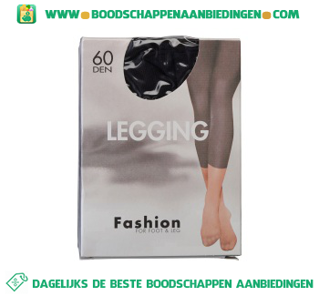 Fashion Legging s/m black aanbieding