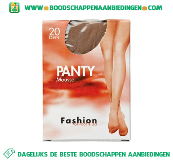 Fashion Panty mousse sky 40/44 aanbieding