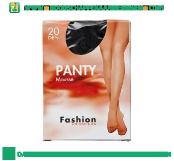 Fashion Panty mousse zwart 44/48 20 den aanbieding