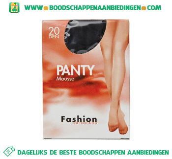 Fashion Panty mousse zwt 40/44 20 den aanbieding