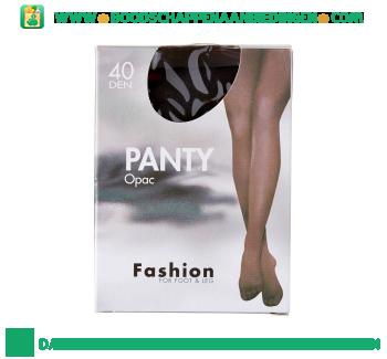 Fashion Panty opac 40/44 grafiet 40 den aanbieding