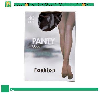 Panty opac 44/48 grafiet 40 den aanbieding