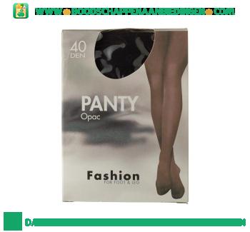 Fashion Panty opaque zwart 44/48 40 den aanbieding