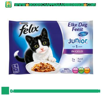 Felix Junior tot 1 jaar rund en kip in gelei aanbieding