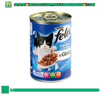 Felix Kabeljauw & sardines in gelei aanbieding