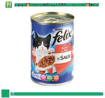Felix Rund & kip in saus aanbieding