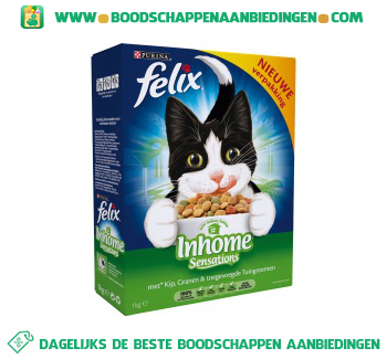 Felix Sensations inhome aanbieding