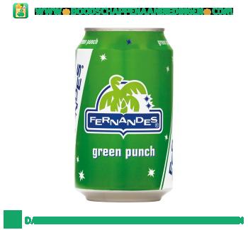 Fernandes Green punch aanbieding