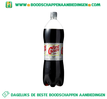 First Choice Cola light aanbieding