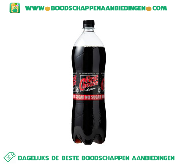 First Choice Cola no sugar aanbieding