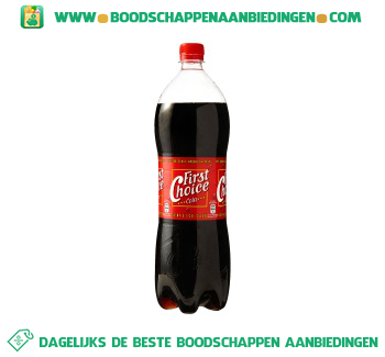 First Choice Cola regular aanbieding