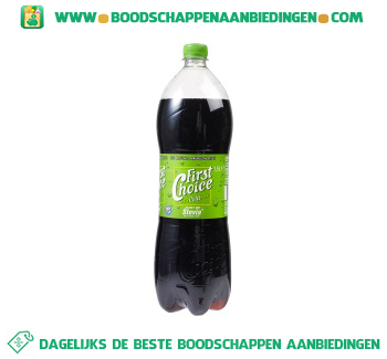 First Choice Cola stevia aanbieding