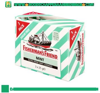 Fisherman`s Friend Mint suikervrij aanbieding