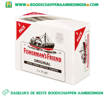 Fisherman`s Friend Original aanbieding
