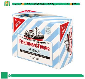 Fisherman`s Friend Original geen suiker toegevoegd aanbieding