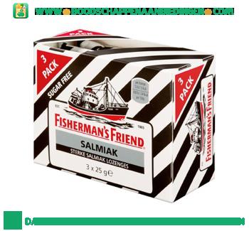 Fisherman`s Friend Salmiak suikervrij aanbieding