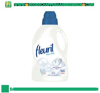 Fleuril Wasmiddel puur wit vloeibaar aanbieding