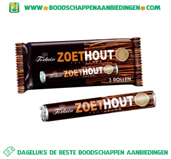 Fortuin Zoethout aanbieding