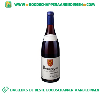 Frankrijk Bourgogne pinot noir aanbieding