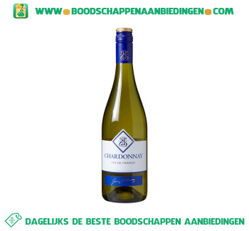 Frankrijk Jean Sablenay cepage chardonnay aanbieding