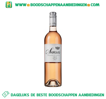 Sensas syrah rosé aanbieding