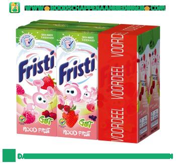 Fristi Rood fruit geen suiker toegevoegd 6-pak aanbieding