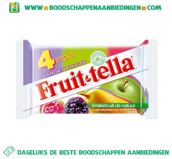 Fruittella Garden fruits aanbieding