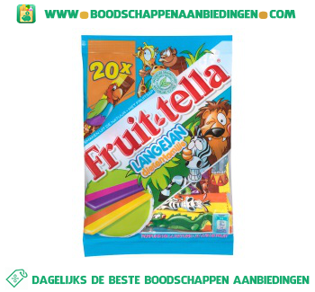 Fruittella Lange Jan aanbieding