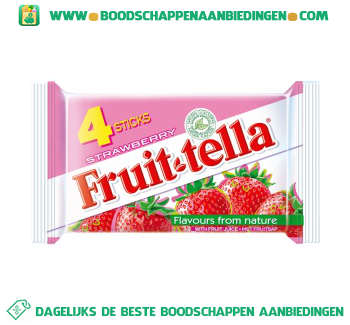 Fruittella Strawberry aanbieding
