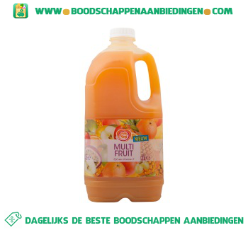 Fruity King Multi fruitsap aanbieding