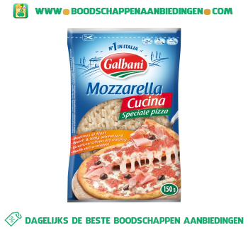 Galbani Mozzarella geraspt aanbieding