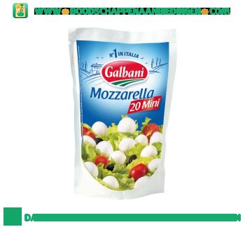 Galbani Mozzarella mini aanbieding
