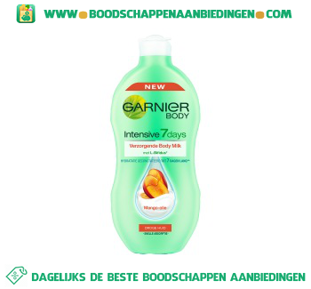 Garnier Intensive 7days body milk mango aanbieding