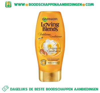 Garnier Loving Blends Conditioner argan en camelia aanbieding