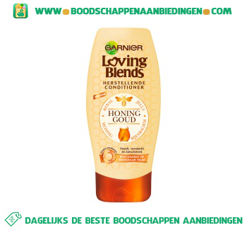 Garnier Loving Blends Conditioner honing en bijenbalsem aanbieding
