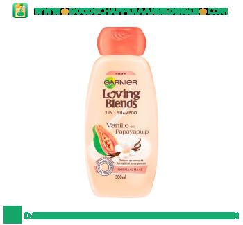 Garnier Loving Blends Shampoo vanille en papaya aanbieding