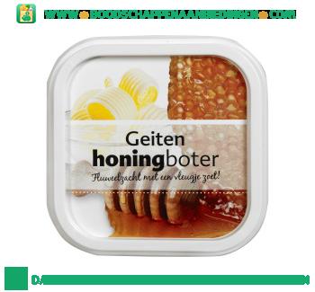 Geitenboter met honing aanbieding